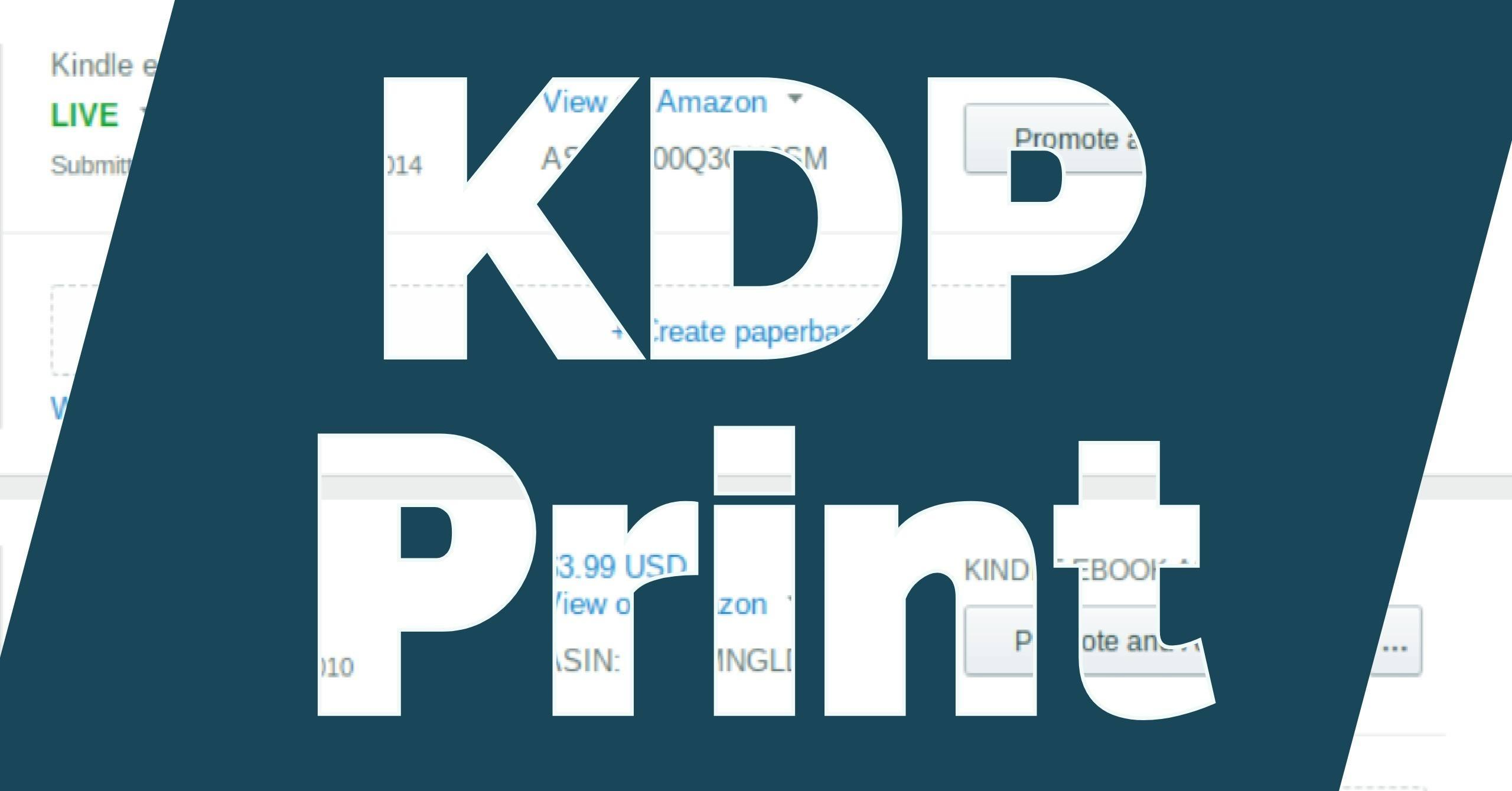 How to Move Your Book From Createspace to KDP Print – Ryan M  Williams